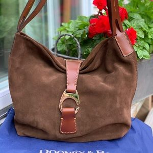 Dooney and Bourke Suede Hobo